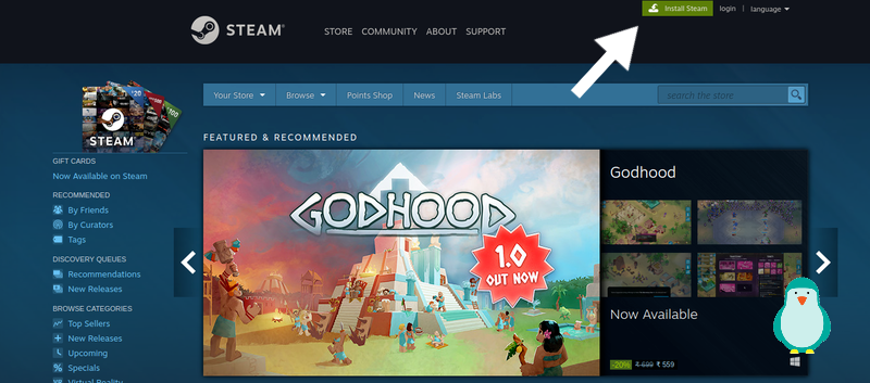 go to https://store.steampowered.com/