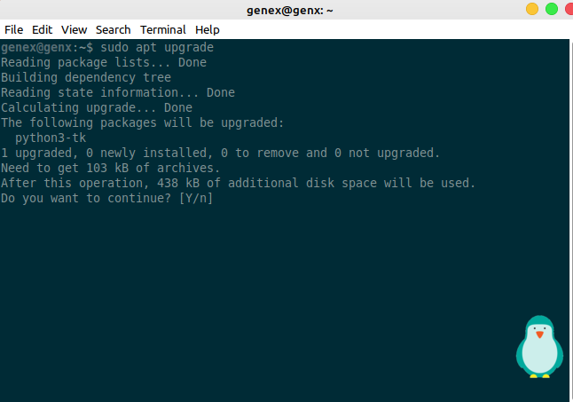 update packages in linux using apt package manager