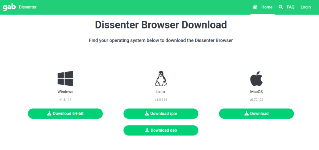 dissenter for linux