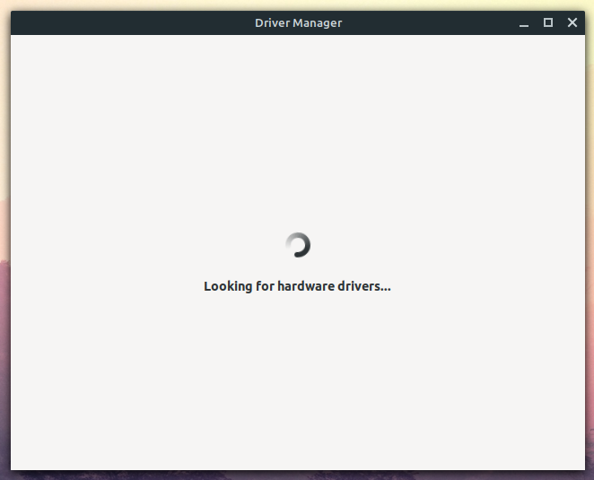driver manager linux mint
