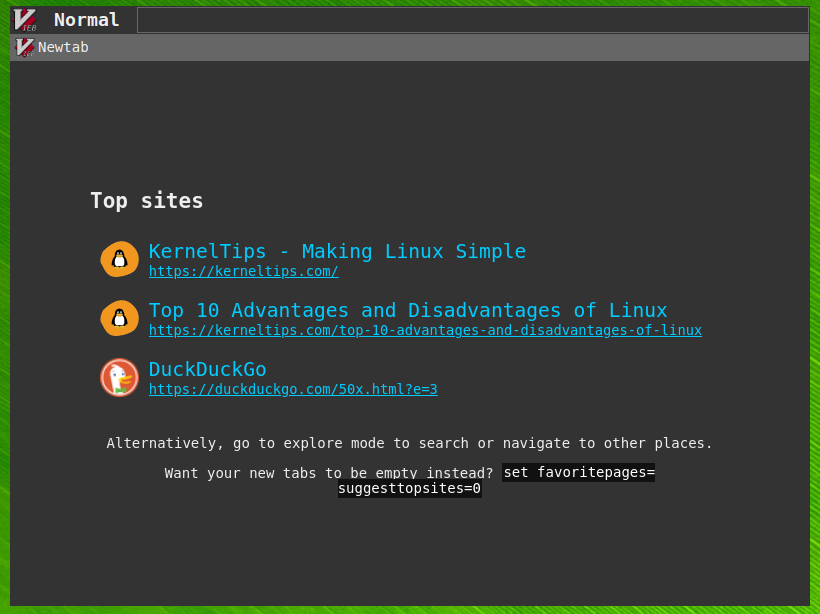 vieb brower for linux install